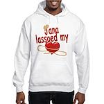 Jana Lassoed My Heart Hooded Sweatshirt