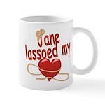 Jane Lassoed My Heart Mug