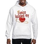 Janice Lassoed My Heart Hooded Sweatshirt