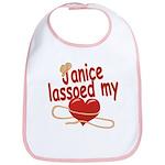 Janice Lassoed My Heart Bib