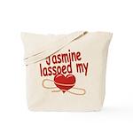 Jasmine Lassoed My Heart Tote Bag