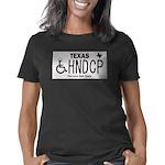 Texas Handicap Plate Women's Classic T-Shirt