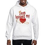 Jean Lassoed My Heart Hooded Sweatshirt