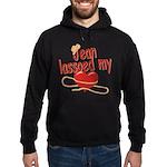 Jean Lassoed My Heart Hoodie (dark)