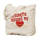 Jeanette Lassoed My Heart Tote Bag