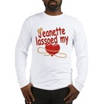 Jeanette Lassoed My Heart Long Sleeve T-Shirt