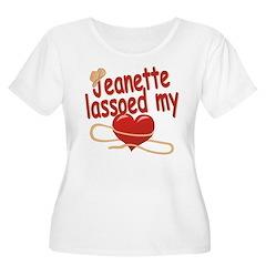 Jeanette Lassoed My Heart T-Shirt