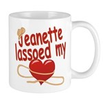 Jeanette Lassoed My Heart Mug