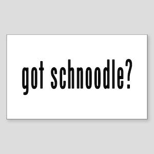 GOT SCHNOODLE Sticker (Rectangle)