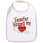 Jennifer Lassoed My Heart Bib