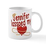 Jennifer Lassoed My Heart Mug