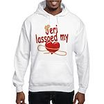 Jeri Lassoed My Heart Hooded Sweatshirt