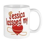 Jessica Lassoed My Heart Mug
