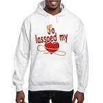 Jo Lassoed My Heart Hooded Sweatshirt