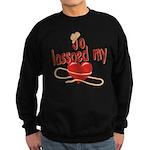 Jo Lassoed My Heart Sweatshirt (dark)