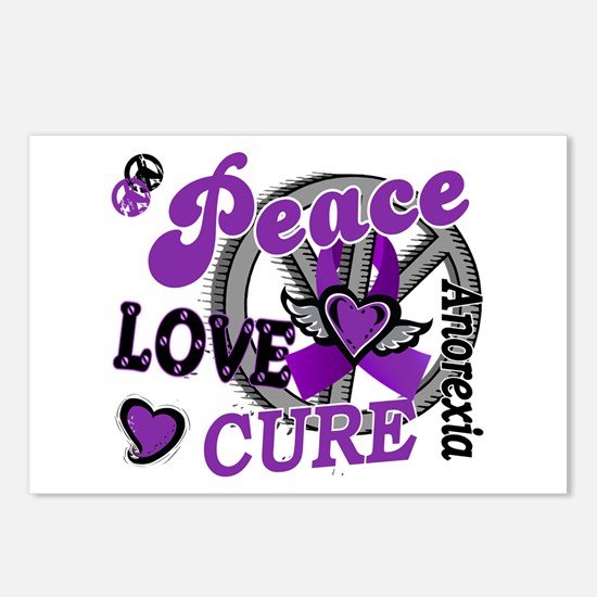 Peace Love Cure 2 Anorexia Shirts Gifts Postcards