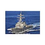 USS JOHN PAUL JONES Rectangle Magnet