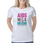 AIDS Walk Miami Women's Classic T-Shirt