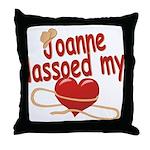 Joanne Lassoed My Heart Throw Pillow