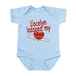 Jocelyn Lassoed My Heart Infant Bodysuit