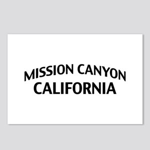 Mission Canyon California Postcards (Package of 8)