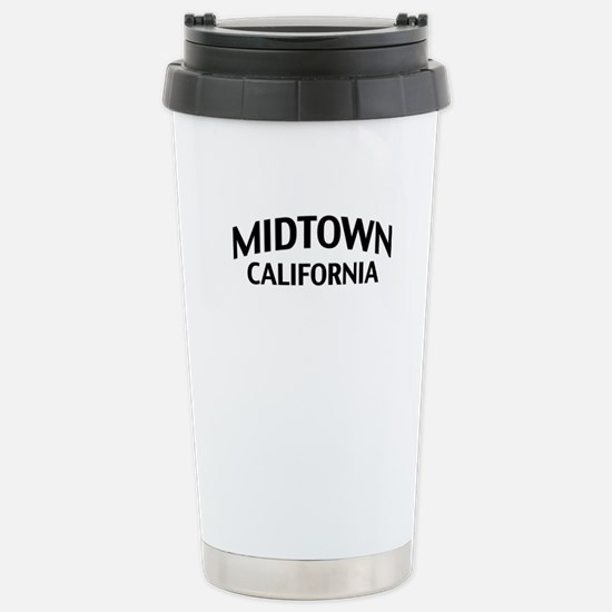 Midtown California Stainless Steel Travel Mug