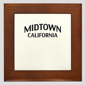 Midtown California Framed Tile