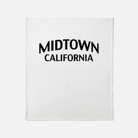 Midtown California Throw Blanket