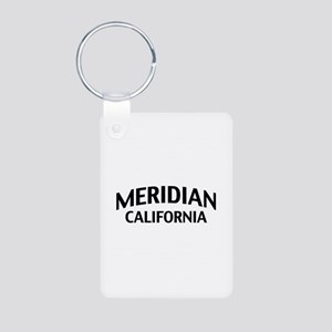 Meridian California Aluminum Photo Keychain