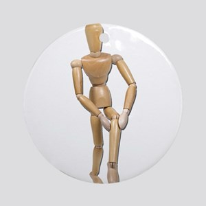 Knee Pain Ornament (Round)