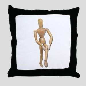 Knee Pain Throw Pillow