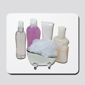 Lotion Cream Scrubber Tub Mousepad