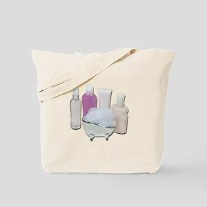 Lotion Cream Scrubber Tub Tote Bag
