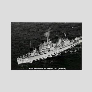 USS JOSEPH P. KENNEDY, JR. Rectangle Magnet