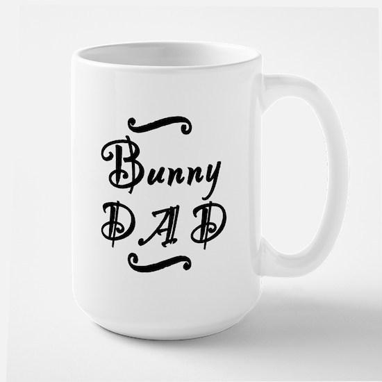 Bunny DAD Large Mug
