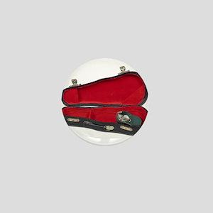 Music Case Hat Full Money Mini Button