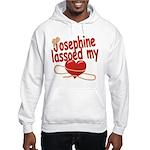 Josephine Lassoed My Heart Hooded Sweatshirt