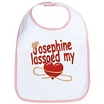Josephine Lassoed My Heart Bib