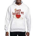 Joyce Lassoed My Heart Hooded Sweatshirt