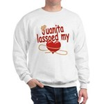 Juanita Lassoed My Heart Sweatshirt