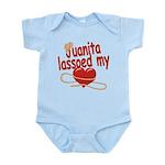 Juanita Lassoed My Heart Infant Bodysuit