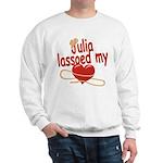 Julia Lassoed My Heart Sweatshirt