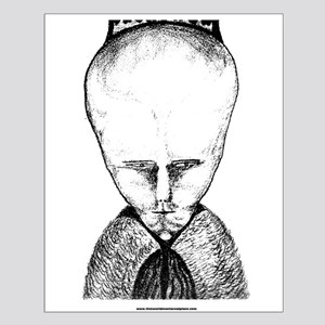 Lam - Aleister Crowley Small Poster