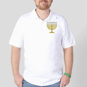 Menorah Golf Shirt