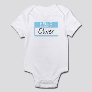 Hello, My Name is Oliver - Infant Bodysuit
