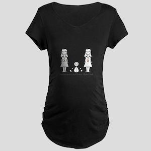 LGBT 2 Mommies Maternity T-Shirt