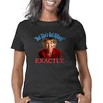 Sarah Palin Not Hillary Women's Classic T-Shirt