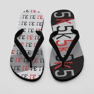 5k 3.1 RED GRAPHIC Flip Flops