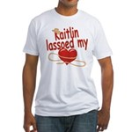 Kaitlin Lassoed My Heart Fitted T-Shirt