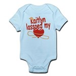 Kaitlyn Lassoed My Heart Infant Bodysuit